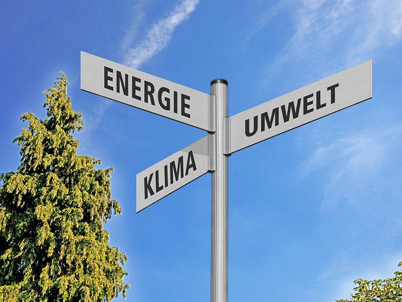 Wegweiser Energie