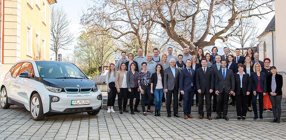 Das Team der Stadtwerke MüllheimStaufen