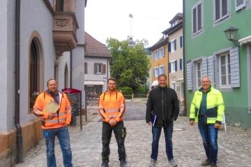 Altstadt Staufen baustellenfrei
