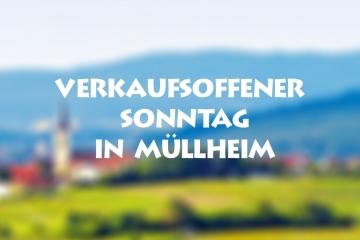 Verkaufsoffener Sonntag in Müllheim 2019